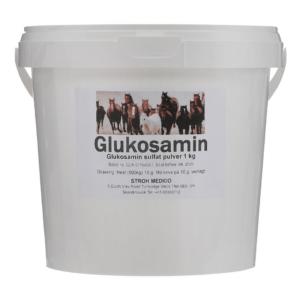 Veterinær glukosamin til heste 1 kg