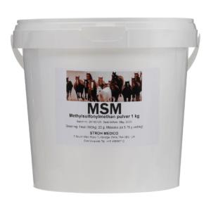 Veterinær MSM til heste 1 kg