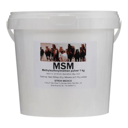Veterinær MSM til heste, der let assimileres svovl MSM distribuerer lugtfri svovl i en biologisk aktiv form. Svovl er et vigtigt mineral