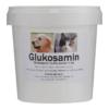 Glucosamin til hunde og katte er en vigtig byggesten til brusk og slærevæske. Anbefalet daglig dosis 25 mg glukosamin pr. KG kropsvægt.