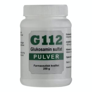 G112 Glucosamine Pulver Biologisk letoptageligt svovl