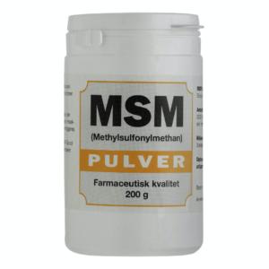MSM Pulver, svært ved at sluge tabletter