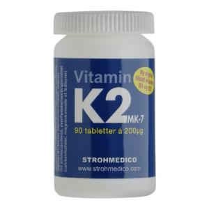 K2-vitamin forhindrer kalkaflejringer i venerne