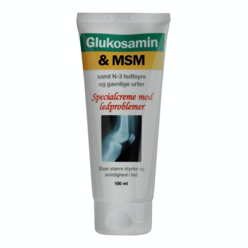 Glucosamin & MSM-creme med N-3-fedtsyre