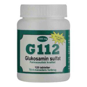 G112 Glucosamine stopper udvikling af slidgigt 1500 mg