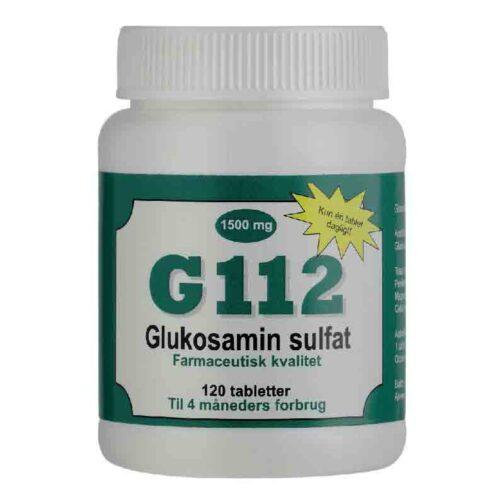 G112 Glucosamine Kapsler 1500 mg kan stoppe udviklingen af slidgigt